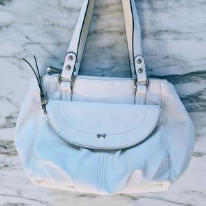 FINAL SALE ‼️ White leather handbag